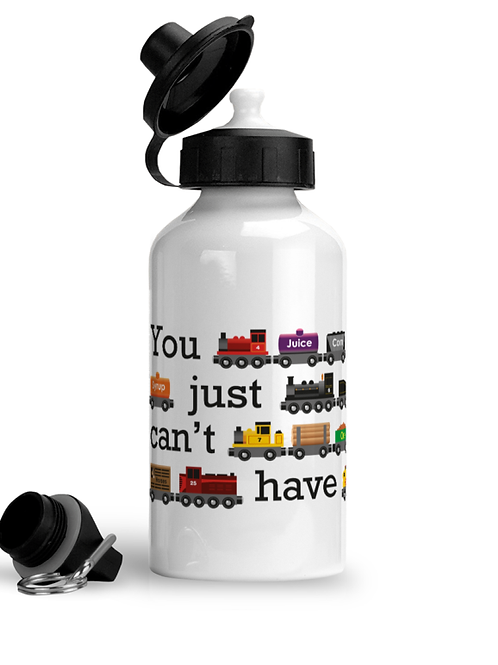 You Just Can't Have Too Many Trains - Sports Water Bottle