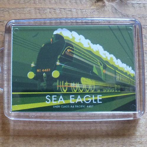 Sea Eagle Locomotive - Keyring
