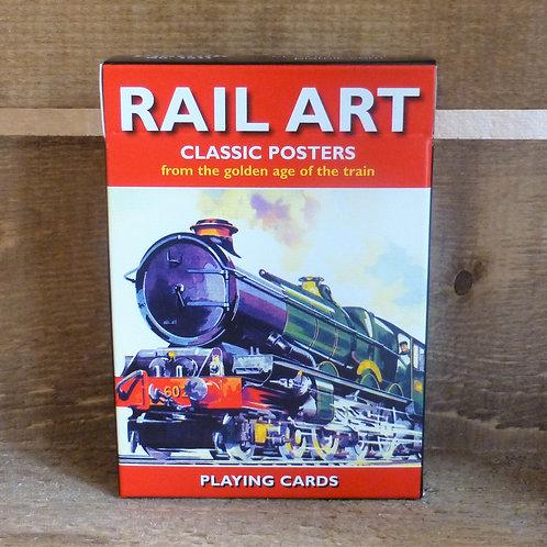 Railway Art - Playing Cards