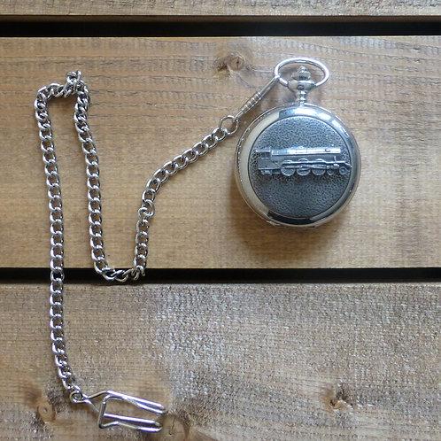 Steam Train - Pocket Watch