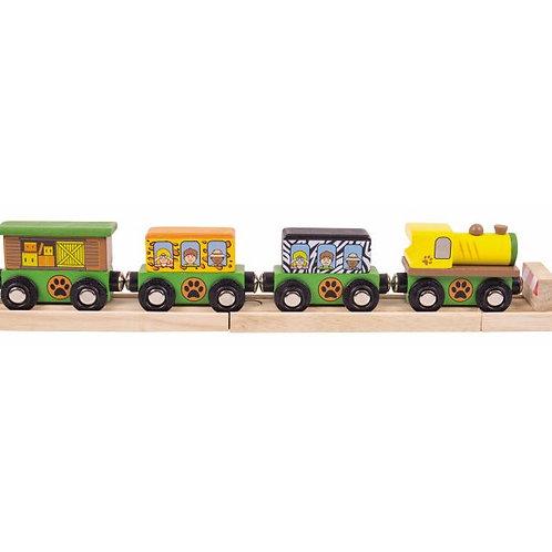 Big Jigs Safari Train - Toys