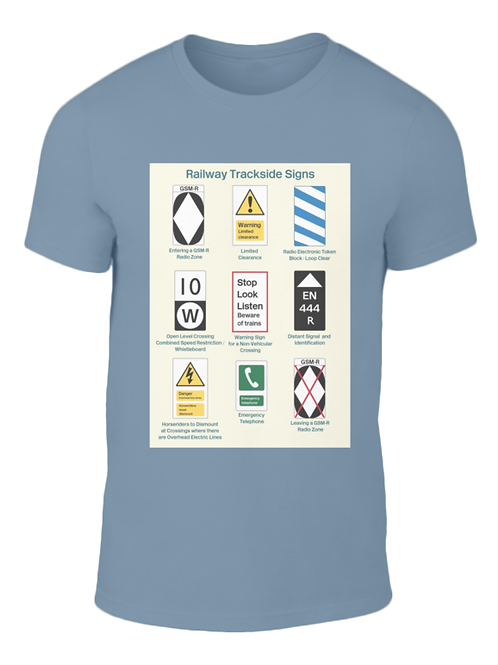 Trackside Signs - T-Shirt