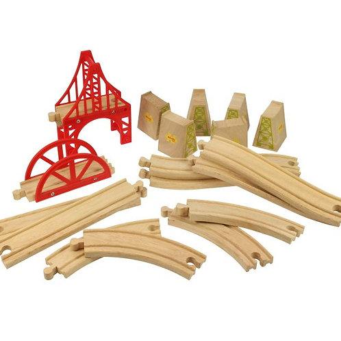 Big Jigs Bridge Expansion Set - Toys