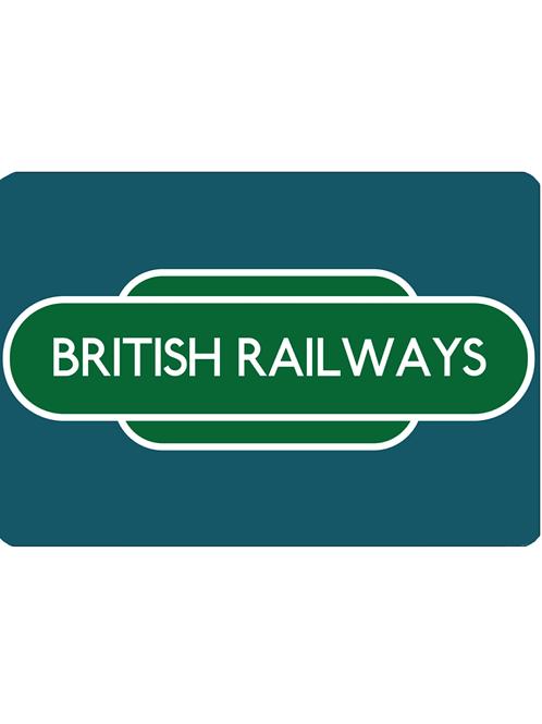 British Railways Totem - Pet Food Mat