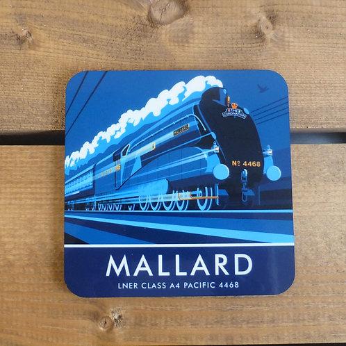 Mallard LNER Locomotive - Coaster