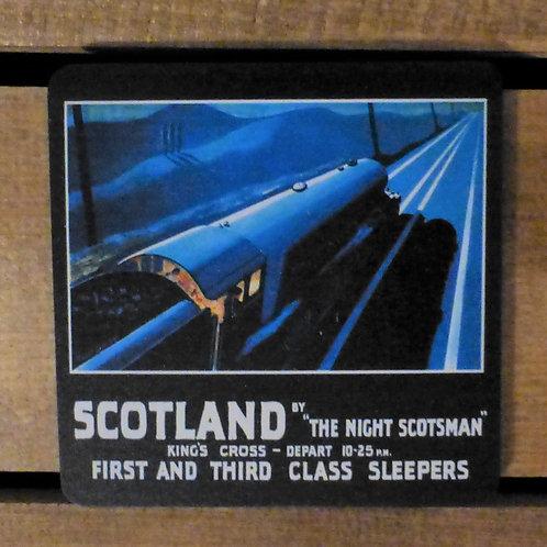 The Night Scotsman - Coaster