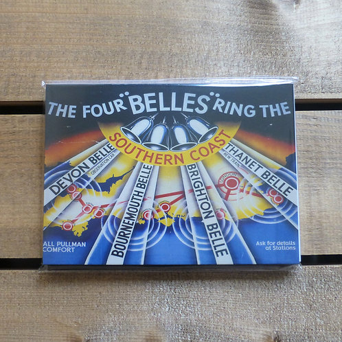 The Four Belles SR - A6 Magnetic Notebook