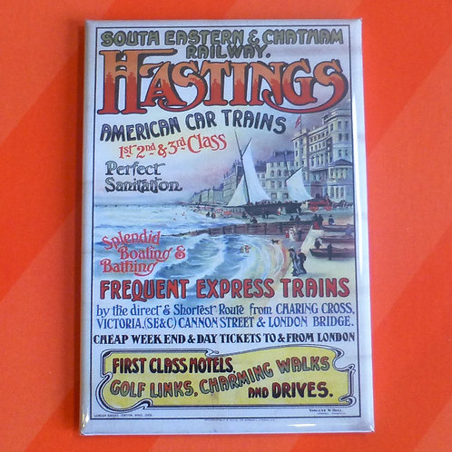 Hastings Express Trains SE & CR - Magnet