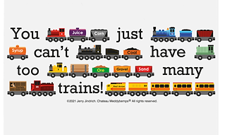 Too Many Trains Chopping Board.png