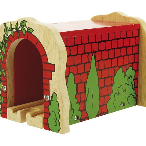 Big Jigs Red Brick Tunnel - Toys