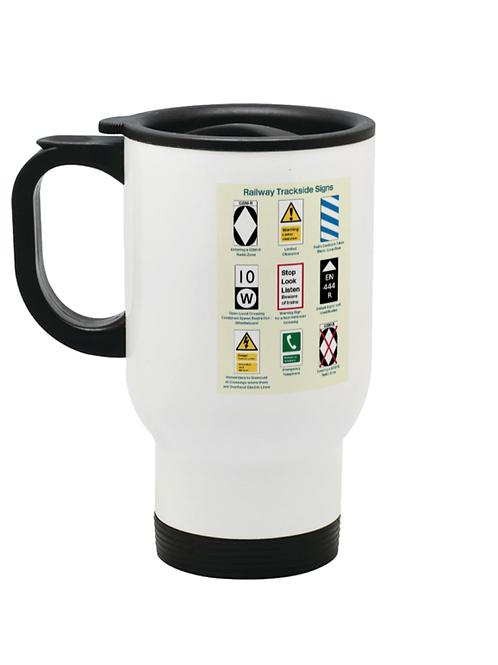 Trackside Signs  - Travel Mug