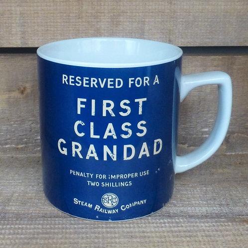 First Class Grandad - Mug