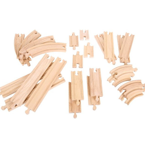Big Jigs Curves & Straights Expansion Track Set - Toys