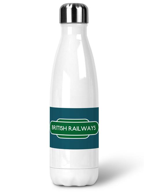 British Railways Totem - Stainless Steel Water Bottle