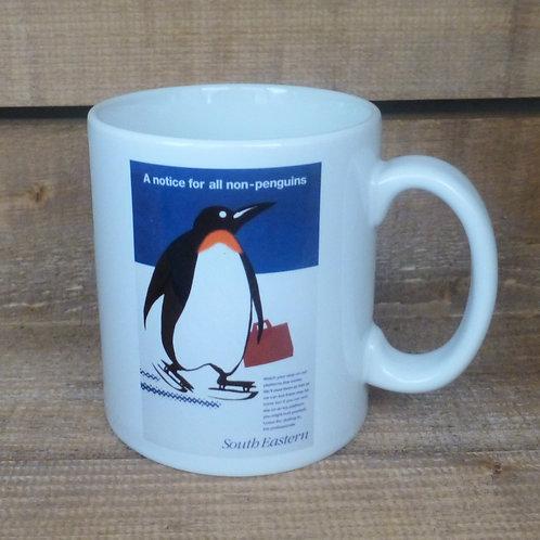 A Notice for All Non-Penguins - Ceramic Mug