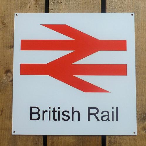British Rail - Metal Sign
