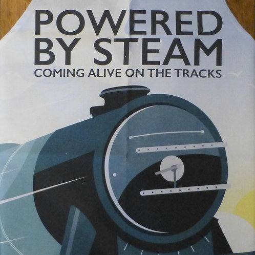 Powered by Steam - Apron