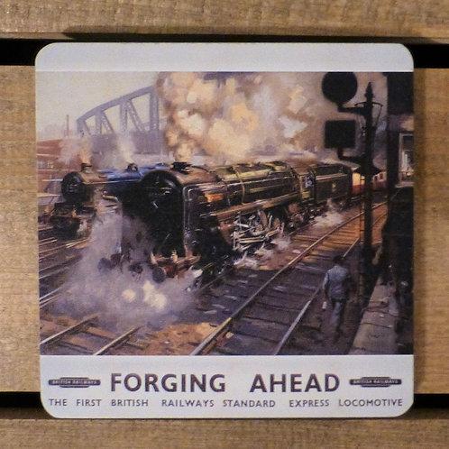 Forging Ahead - Coaster