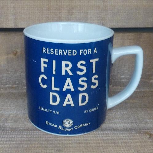 First Class Dad - Mug