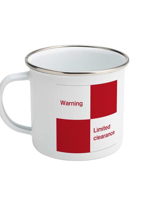 Limited Clearance - Enamel Mug