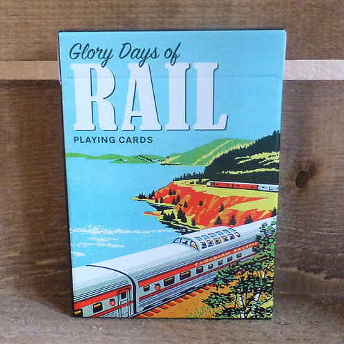 Glory Days of Rail - Playing Cards