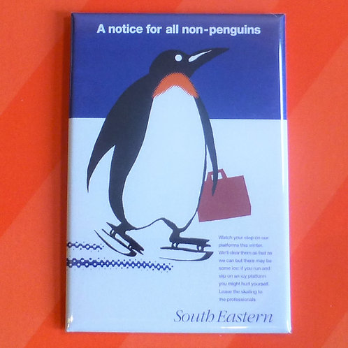 A Notice for All Non-Penguins - Magnet