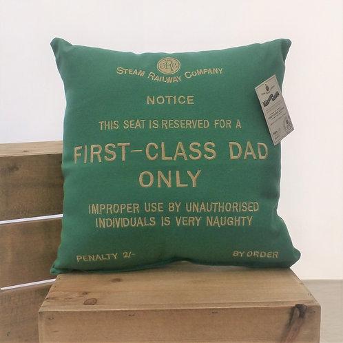 First Class Dad - Cushion
