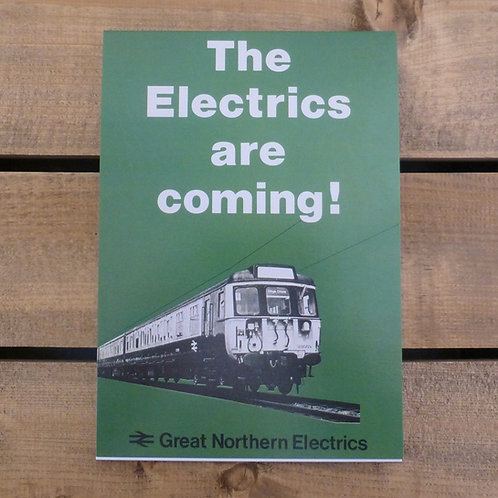 The Electrics are Coming! - A5 Notepad