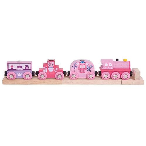 Big Jigs Princess Train - Toys