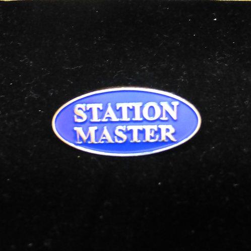Station Master - Badge