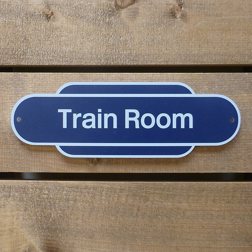 Railway Totem - Personalised Sign