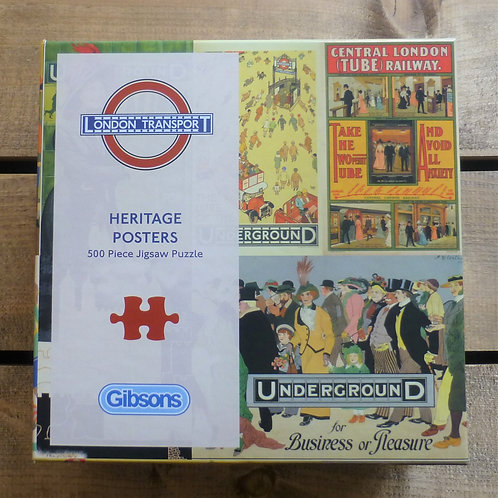 TFL Heritage Posters - Jigsaw