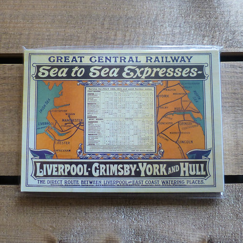 Sea to Sea Express GCR - A6 Magnetic Notebook