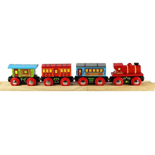 Big Jigs Passenger Train - Toys