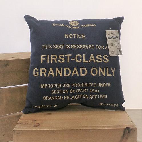 First Class Grandad - Cushion