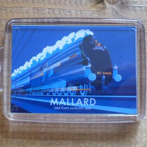 Mallard LNER Locomotive - Keyring