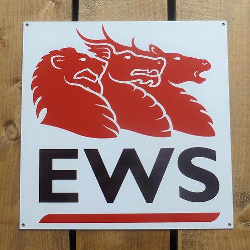 EWS - Metal Sign