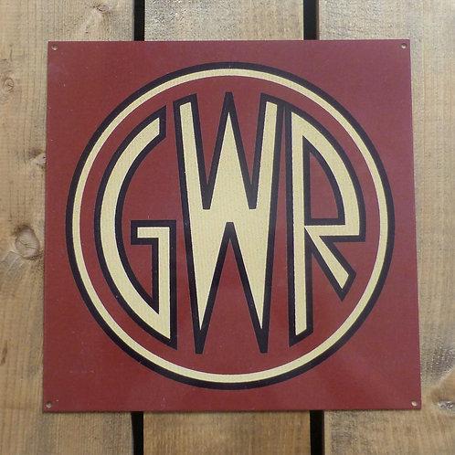GWR - Metal Sign