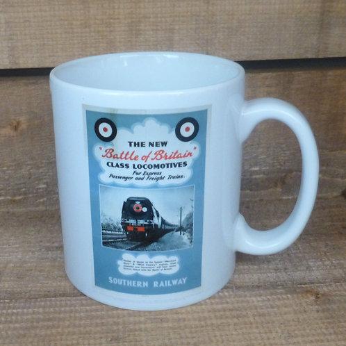Battle of Britain Locomotives - Ceramic Mug