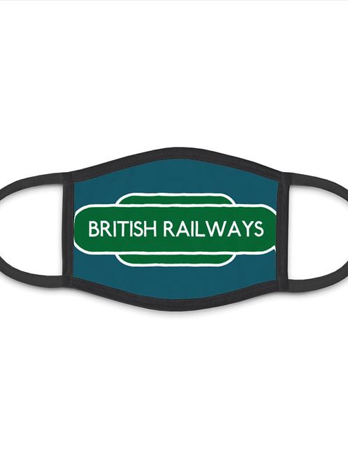 British Railways Totem - Face Mask