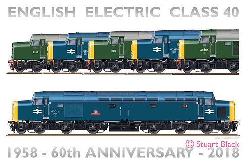 Class 40 - 60th Anniversary - Art Print