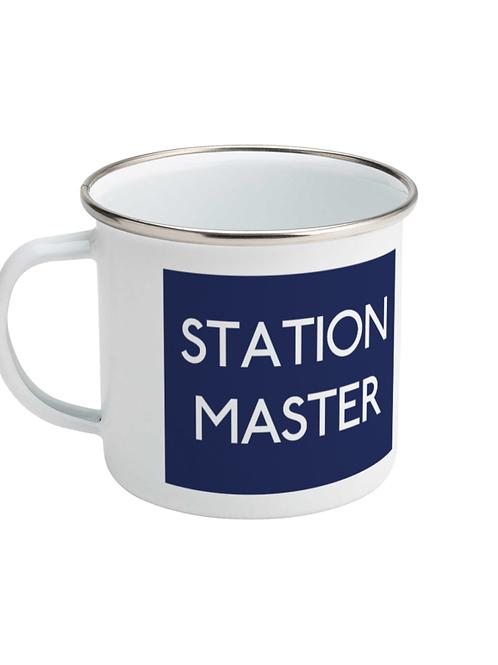 Station Master - Enamel Mug