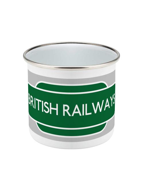British Railways - Enamel Mug