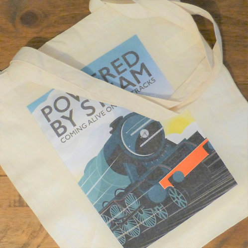 Powered by Steam - Tote Bag