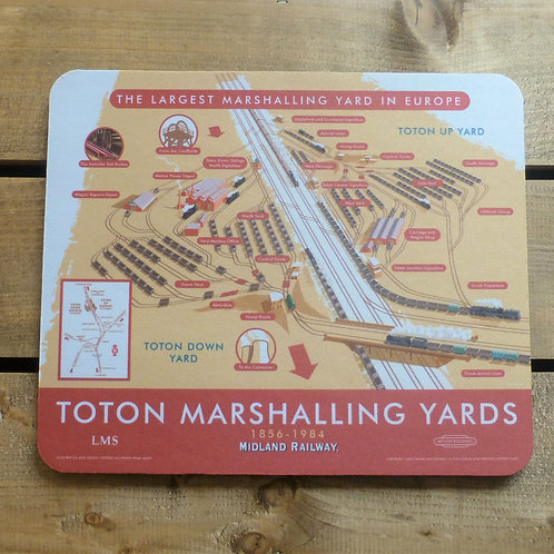 Toton Marshalling Yards - Mouse Mat
