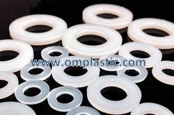 Plastic Flat Round Washers