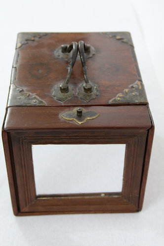 Antique Chinese Travelling Jewellery Box