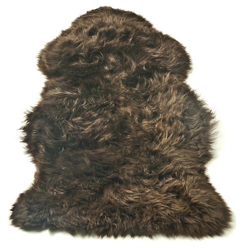 Sheepskin Single - Chocolate/Brown