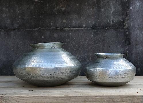 Madhuri Aluminium Bulbous Vase
