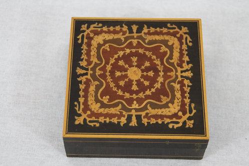Asian Wooden Trinket / Jewellery Box